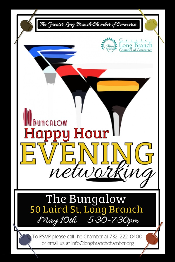 Happy Hour Networking at the Bungalow Hotel Bar