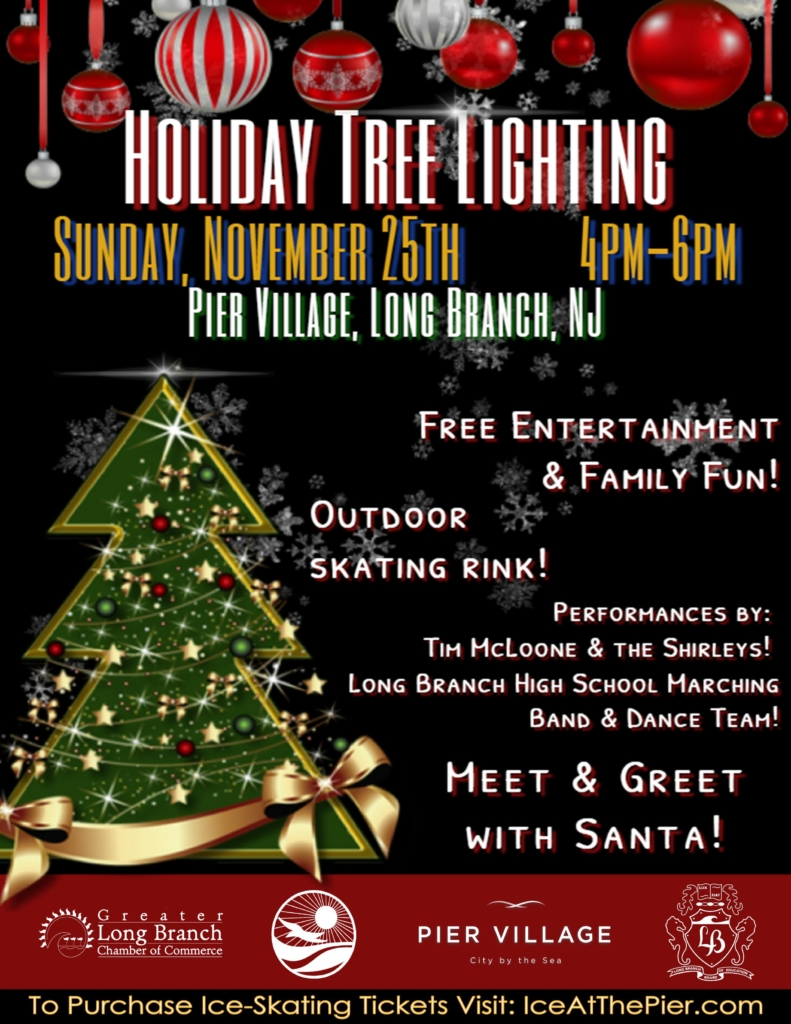 Holiday Tree Lighting in Pier Village